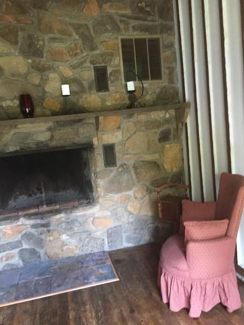 Perfect place to read by the fire or have a cup of tea