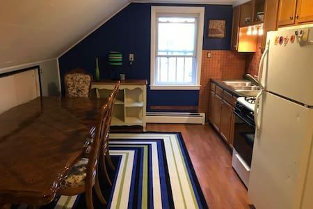 Freshly painted cozy 2nd floor apt.