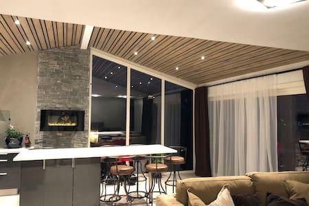 Topp moderne suite.