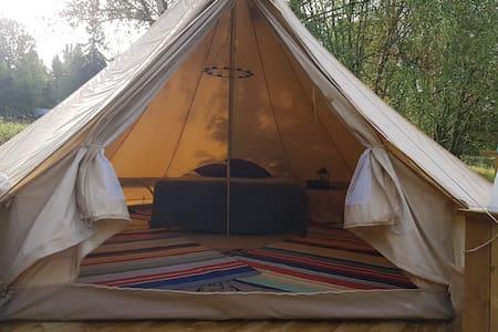 Glamorious Camping at a Peacfull Countryside