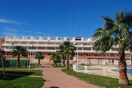 beach house  apartment. front sea - Casablanca