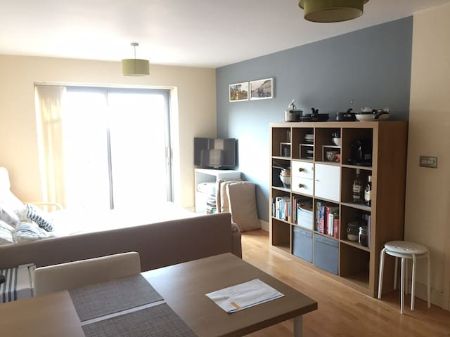 All equipped modern flat in the centre w/ parking - Bristol - Apartment