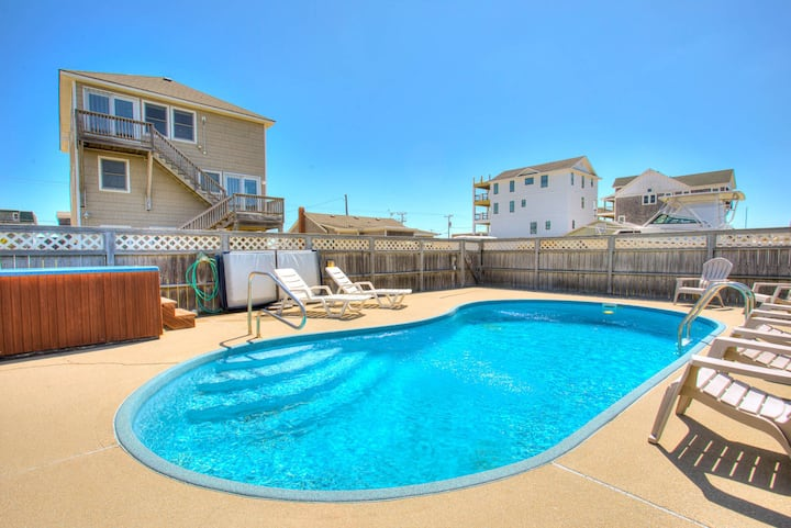 5212 Vacation Daze * 2 Min Walk to Beach * Pool & Hot Tub * Pool Table