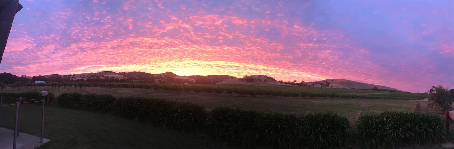 Sunrise over the Barossa