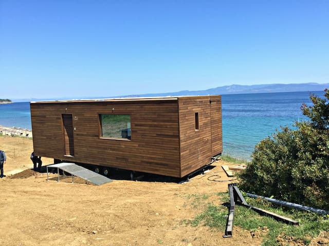 Wooden dream on the beach! - Halkidiki - Bungalow