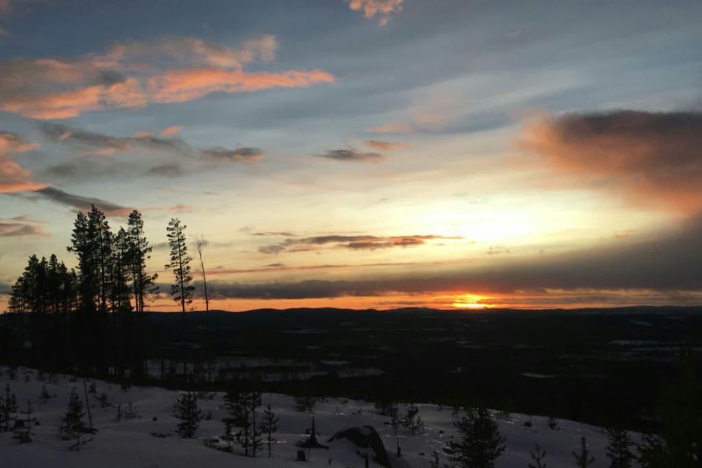 Sudok hill during winter