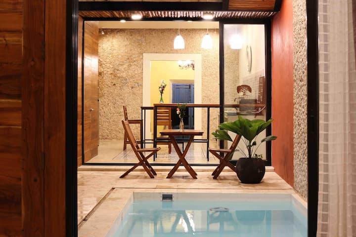Casona X'tabay Casa en el centro de Valladolid