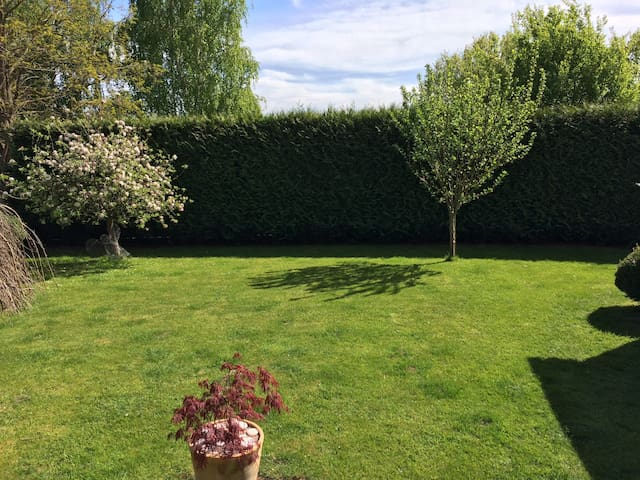 Large, bright double in a warm, friendly house - Taunton - Casa