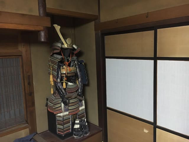 Traditional old Japanese building