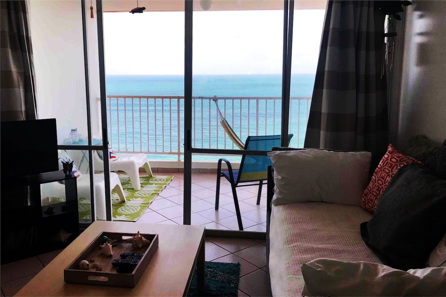 Enjoy the gorgeous view from the minute you walk in! Lounge on the balcony all day!