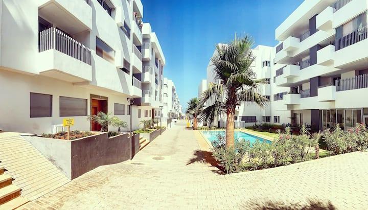 Appartement luxueux à Harhoura