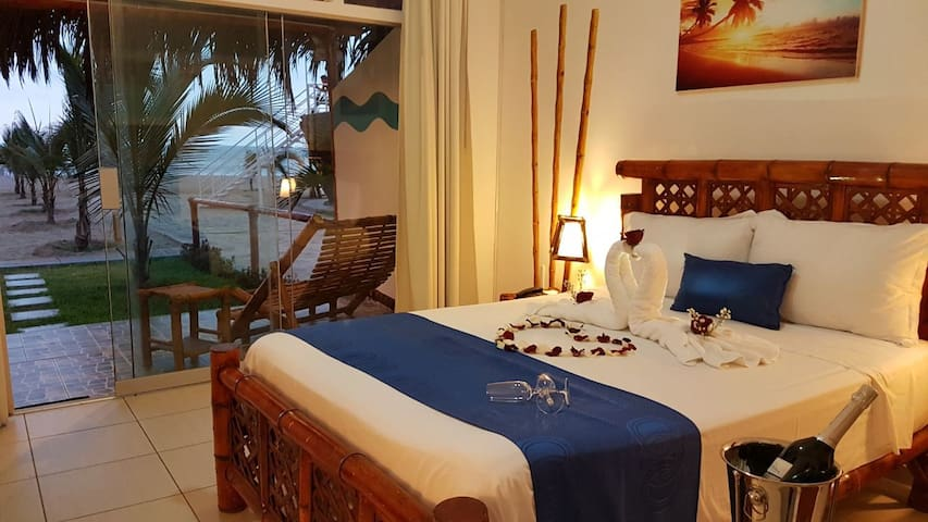 Habitación Matrimonial Delux con Vista al Mar