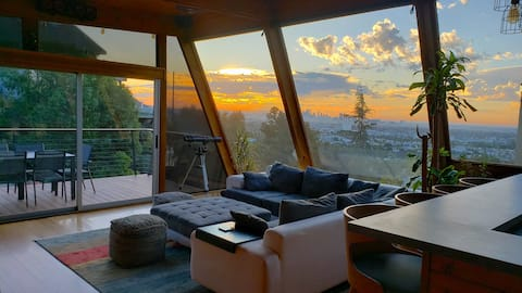 Architectural Wonder Above Sunset-WeHo w/ Big View