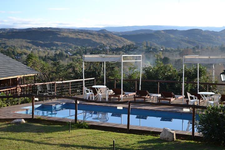 Cabañas El Mirador de Icho Cruz - Villa Icho Cruz - Houten huisje