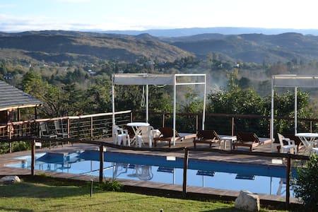 Cabañas El Mirador de Icho Cruz - Villa Icho Cruz - Blockhütte
