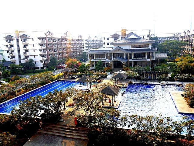 M&M Suites at DMCI Rhapsody Resort (2BR) BEST VIEW