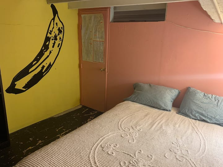 Largest Private Room in Sunny Bushwick Arts Loft