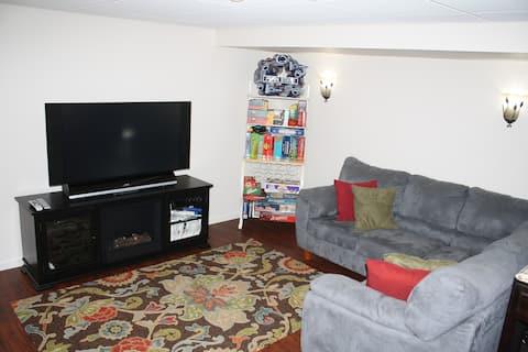 Guest Suite - private, quiet & clean