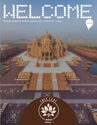 Welcome  | Treeleafhomestays | New Delhi