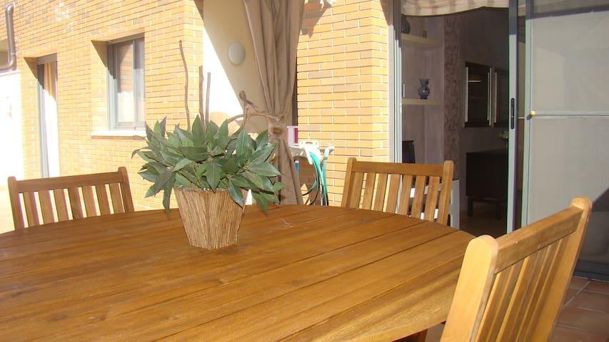 Apartament Riu Ebre - Deltebre - Appartamento
