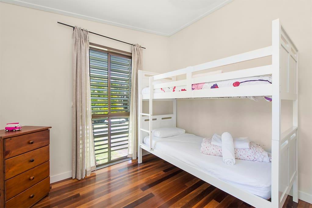 Bedroom 3 - single bunks