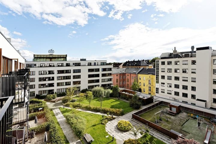 Centrally located, modern and bright gem in Oslo