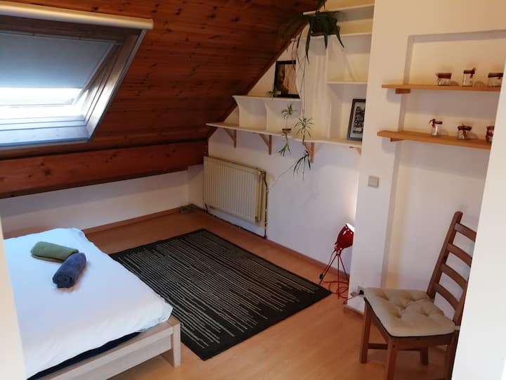 Private &equipped studio in quiet area near center
