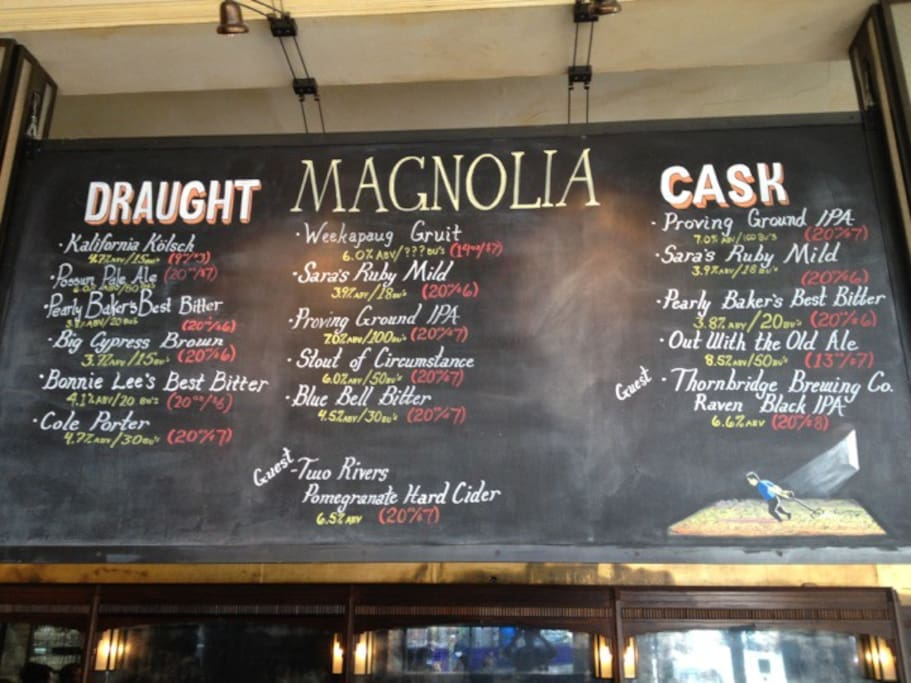 Foto von Magnolia Brewing - Haight in Haight-Ashbury