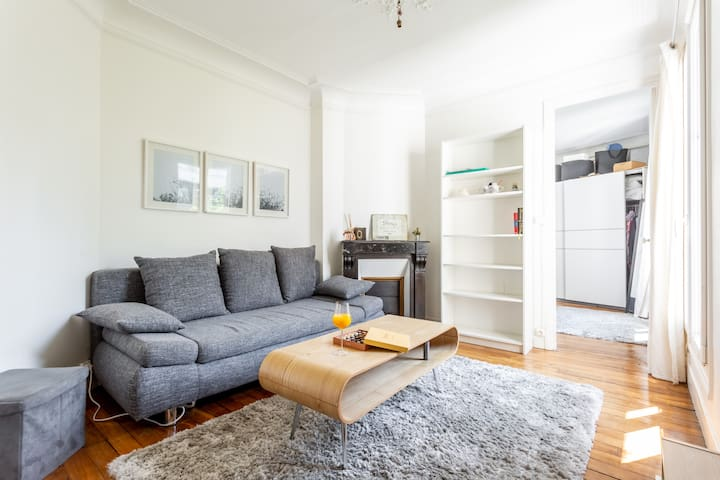 Cosy & charming apartment - Eiffel Tower view