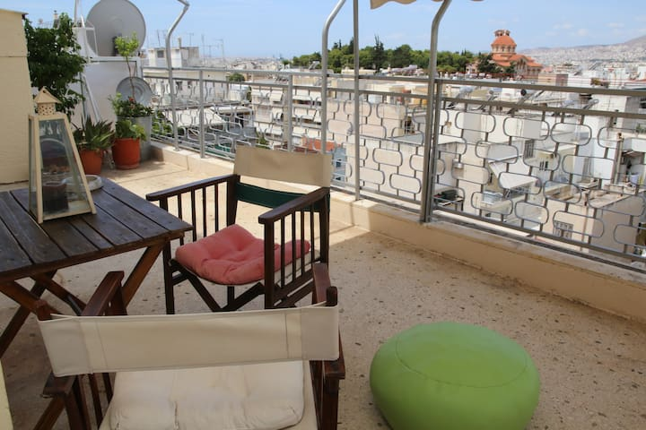SUNNY, nice,romantic APARTMENT with large terrace!