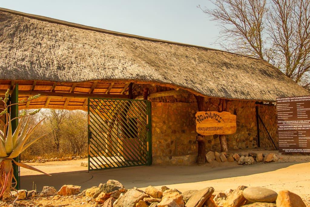 Entrance into Ndlovumzi