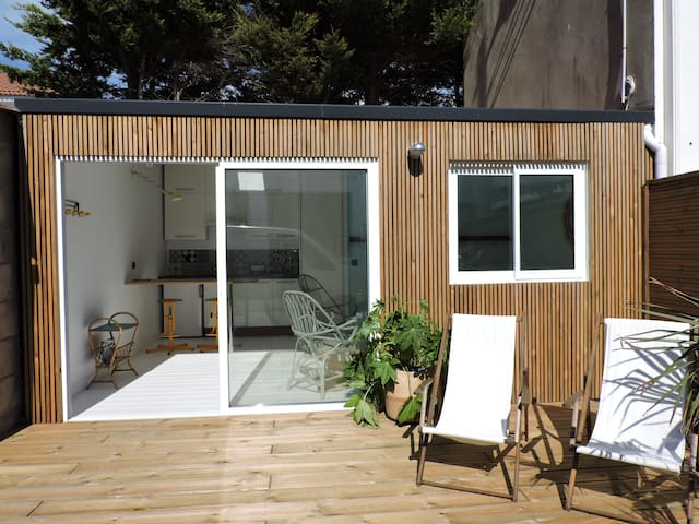 Studio avec terrasse proche plage et centre - Saint-Gilles-Croix-de-Vie - Casa