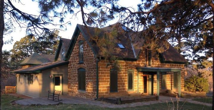 Noblecroft Manor 1896 historic sandstone farmhouse