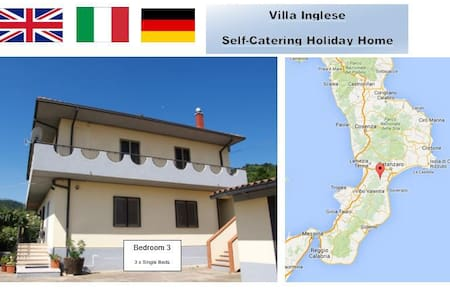 Mountain Location Quiet Retreat 3 plus beaches - San Luca - Villa