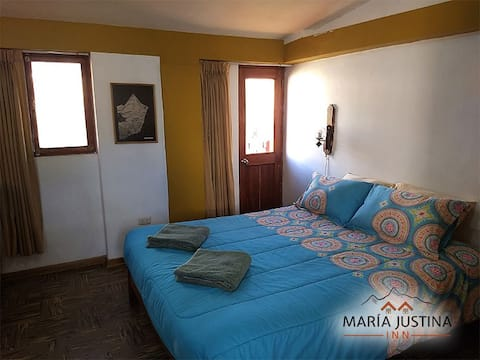 Maria Justina Inn private room 1 king bed ensuite