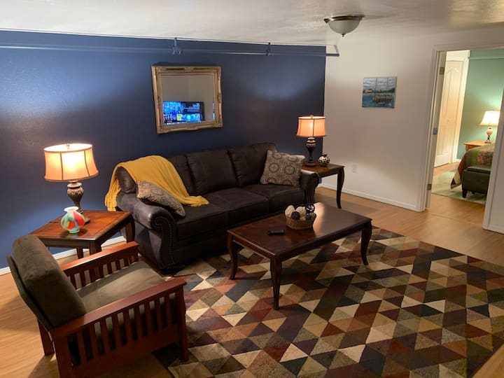 Relax and get cozy while at The Rattlesnake Rest