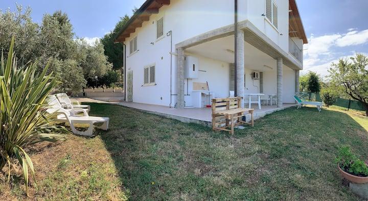Casa vacanze in villa con due camere