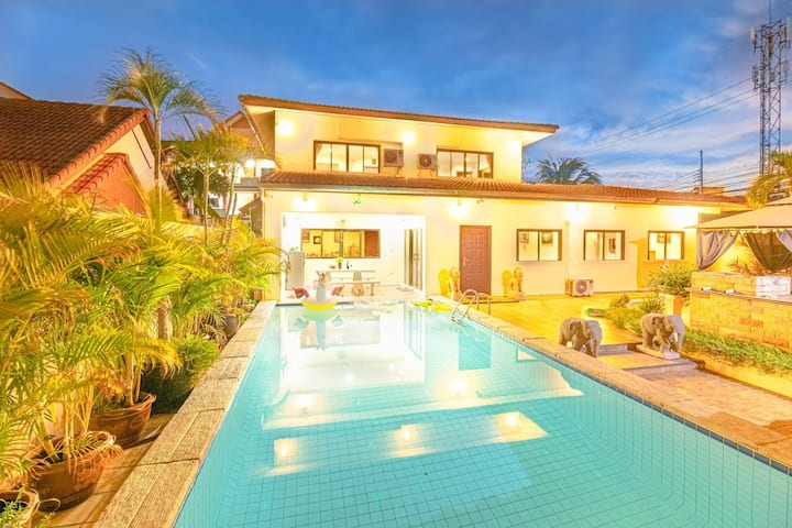 Villa 4 bedrooms near Walking Street & beach ★★★★★