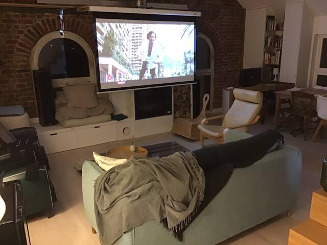 Loft chaleureux à Wavrin (prox Lille) 80 m2