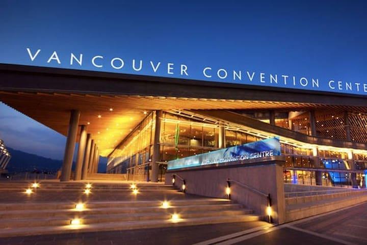 Convention Centre- 10 min walk
