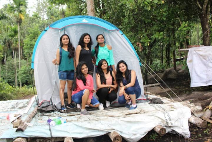 Tent camping in Wayanad
