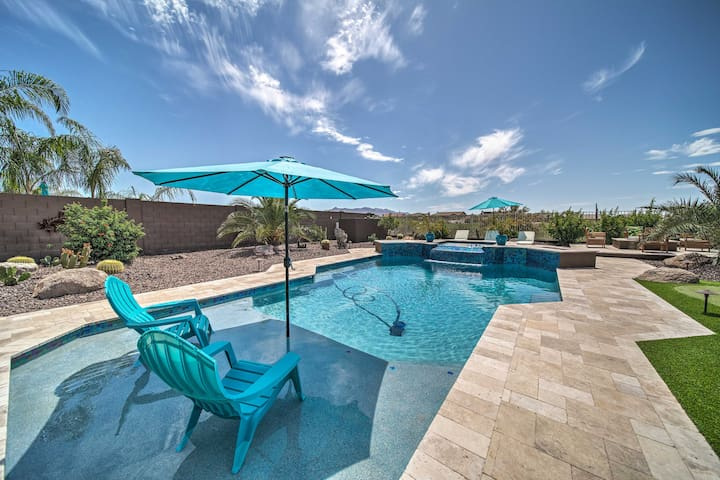 NEW! Upscale Goodyear Home w/ Resort-Style Pool!