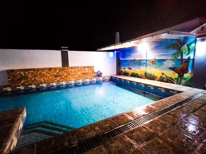 Ms. M's Private Pool in Silang near Tagaytay