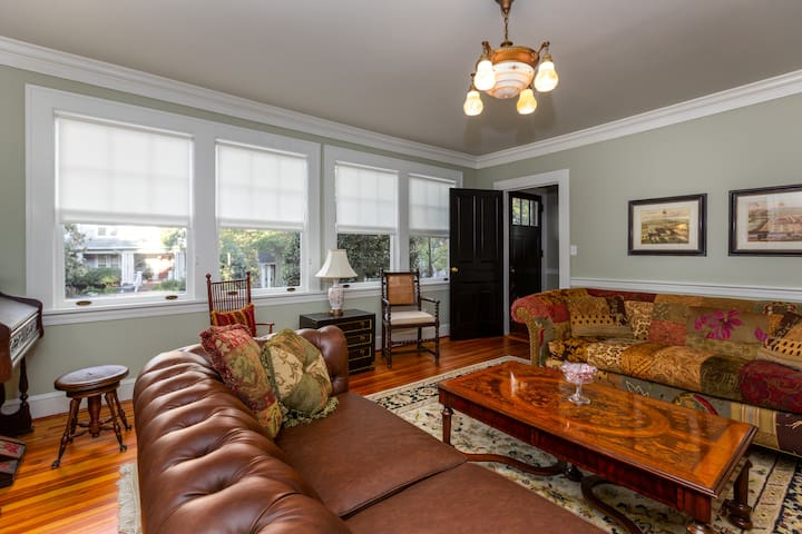 Renowned historic home downtown/across from park