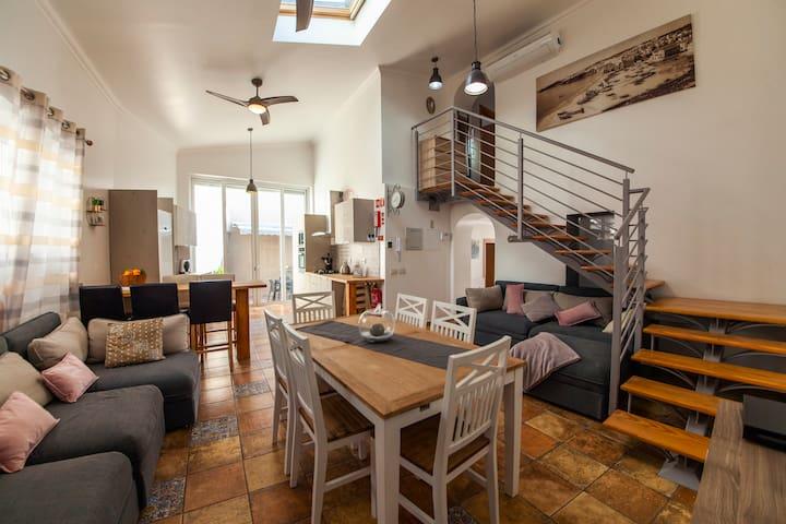 A louer maison 5 chambres entre Lagoa et Portimao