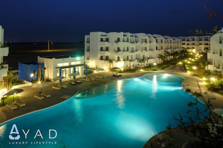 Mansouria Beach Resort - 3 chambres/ Vue sur mer 1