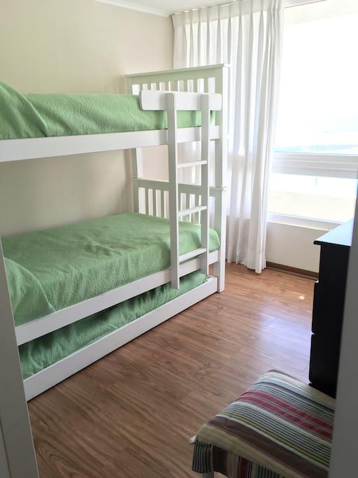 2da pieza con 3 camas