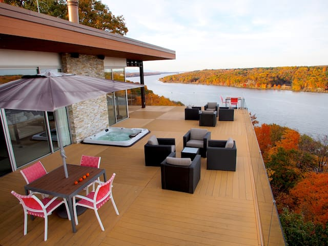 Hudson River Masterpiece - Highland - Villa