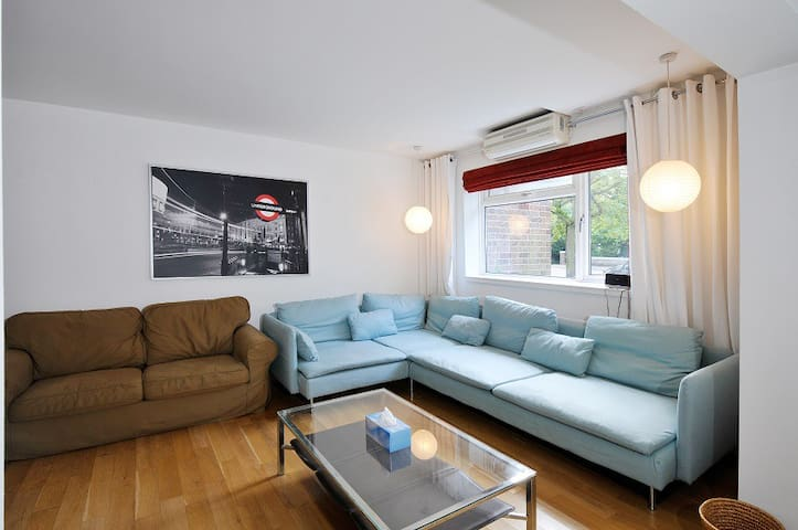 Family flat for 6, garden, station 500 metres - Londres