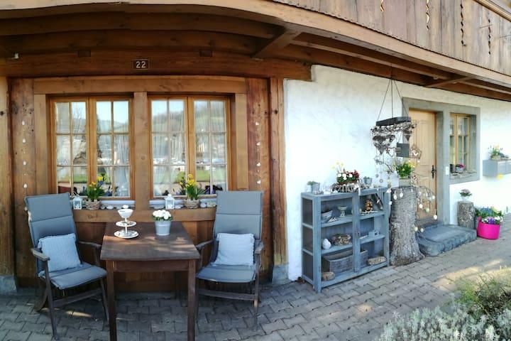 Studio in der Spiezerbucht mit Seeblick - Spiez - Lejlighed